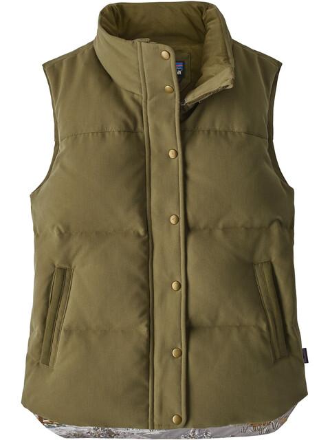 Patagonia W's Bivy Vest Fatigue Green